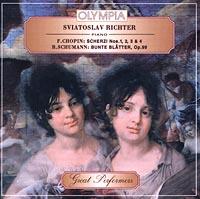 Святослав Рихтер Sviatoslav Richter, piano. F.Chopin: Scherzi Nos. 1, 2, 3 and 4. R.Schumann: Bunte Blatter, Op.99