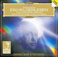 Герберт Караян,Berliner Philharmoniker Richard Strauss. Ein Heldenleben. Tod und Verklarung. Herbert von Karajan strauss strauss vier letzte lieder