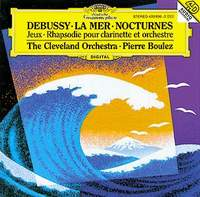 Пьер Булез,Франклин Коэн,The Cleveland Orchestra,The Cleveland Orchestra & Chorus Pierre Boulez. Debussy: La Mer. Nocturnes пьер булез new swingle singers orchestre national de france pierre boulez berio sinfonia eindruke