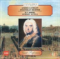 Святослав Рихтер,Андрей Гаврилов Andrei Gavrilov. Sviatoslav Richter. G.F. Handel. Keyboard Suites (1)