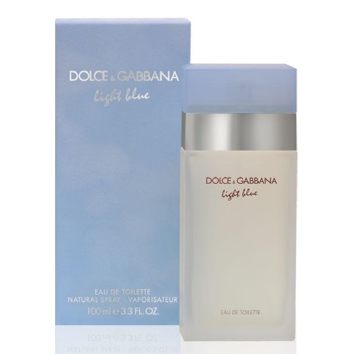 Dolce & Gabbana Туалетная вода Light Blue, 100 мл1301210Этот аромат посвящен чувственным богиням Средиземноморья, а любим женщинами всех возрастов во многих странах мира. Один из популярнейших ароматов на российском рынке.Мгновенно овладевающий вами, неотразимый как сама радость жизни! Импульсивная и яркая композиция сделала туалетную воду Dolce & Gabbana Light Blue бестселлером парфюмерного рынка.Бархатная упаковка небесно-голубого цвета, матовый флакон создают ощущение фирменной утонченной роскоши от мастеров моды!Классификация аромата: фруктовый, цветочный.Пирамида аромата· Верхние ноты: сицилийский лимон, колокольчики, зеленые яблоки сорта Гренни Смит.· Ноты сердца: жасмин, бамбук, белая роза.· Ноты шлейфа: кедр, амбра, мускус.Ключевые слова: нежный, искрящийся, энергичный, очаровывающий, оптимистичный, чувственный.Туалетная вода - один из самых популярных видов парфюмерной продукции. Туалетная вода содержит 4-10% парфюмерного экстракта. Главные достоинства данного типа продукции заключаются в доступной цене, разнообразии форматов (как правило, 30, 50, 75, 100 мл), удобстве использования (спрей). Идеальна для дневного использования.Товар сертифицирован.Уважаемые клиенты!Обращаем ваше внимание на возможные изменения дизайна упаковки.