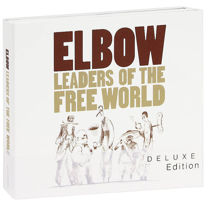Elbow Elbow. Leaders Of The Free World. Deluxe Edition (2 CD + DVD) джеймс блант james blunt all the lost souls deluxe edition cd dvd