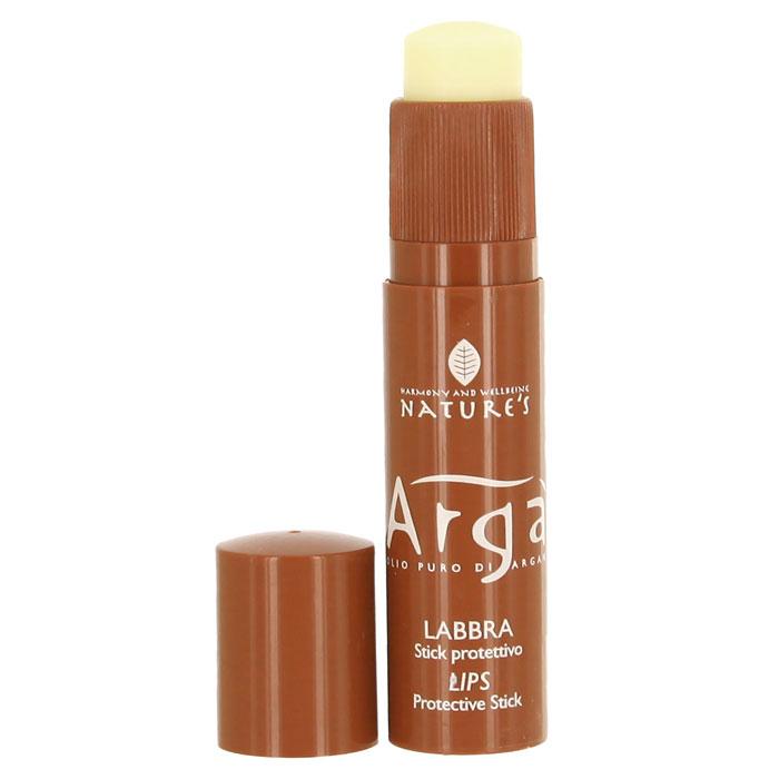 Бальзам-стик для губ Natures Arga, защитный, 5,7 млFS-00897Защитный бальзам-стик для губ Natures Arga идеальное средство для защиты губ чувствительных к холоду и другим атмосферным явлениям. Смягчает, питает, увлажняет, предупреждает пересыхание, создает защитный барьер против внешних раздражителей.Характеристики:Объем: 5,7 мл.Производитель: Италия. Артикул:60150402. Товар сертифицирован.