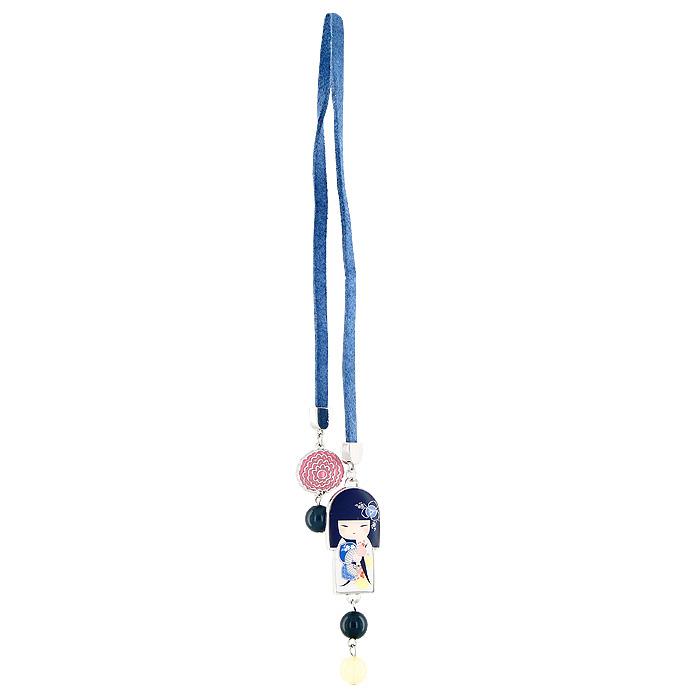Закладка для книг Kimmidoll Цукико (Уверенность). KF0519KF0517Изящная закладка Цукико - великолепный подарок для тех, кто не мыслит свою жизнь без книг. Закладка представляет собой тонкий кожаный шнурок, который оформлен металлической подвеской в виде японской куколки в белом кимоно, и декорирован бусинами. Характеристики: Длина закладки: 40,5 см. Материал: металл, искусственная кожа, пластик. Размер упаковки: 6 см x 15,5 см x 2 см. Производитель: Китай.Артикул: KF0519.