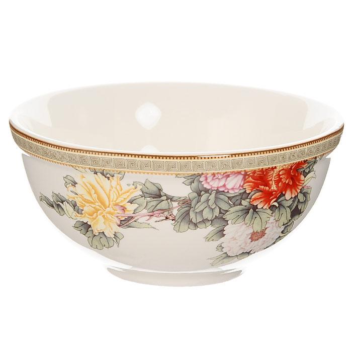Салатник Японский сад, диаметр 13 см391602Салатник Японский сад сочетает в себе изысканный дизайн с максимальной функциональностью. Красочность оформления придется по вкусу и ценителям классики, и тем, кто предпочитает утонченность и изысканность. Керамический салатник Японский сад украсит сервировку вашего стола и подчеркнет прекрасный вкус хозяина, а также станет отличным подарком. Характеристики: Материал: керамика. Диаметр салатника по верхнему краю: 13 см. Высота салатника: 6 см. Объем: 500 мл. Изготовитель: Китай. Артикул: IM45018-1730AL.Изделия торговой марки Imari произведены из высококачественной керамики, основнымингредиентом которой является твердый доломит, поэтому все керамические изделия Imari - легкие,белоснежные, прочные и устойчивы к высоким температурам. Высокое качество изделий достигается нетолько благодаря использованию особого сырья и новейших технологий и оборудования при изготовлениипосуды, но также благодаря строгому контролю на всех этапах производственного процесса. Нанесениесверкающей глазури, не содержащей свинца, придает изделиям Imari превосходный блеск и особуюпрочность.Красочные и нежные современные декоры Imari - это результат профессиональной работы дизайнеров,которые ежегодно обновляют ассортимент и предлагают покупателям десятки новый декоров. Своюпопулярность торговая марка Imari завоевала благодаря высокому качеству изделий, стильным современнымдизайнам, широчайшему ассортименту продукции, прекрасным подарочным упаковкам и низким ценам. Всеэти качества изделий сделали их безусловным лидером на рынке керамической посуды.