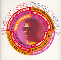 Стиви Уандер Stevie Wonder. Greatest Hits. Vol.2 стиви уандер stevie wonder the definitive collection
