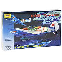 """Сборная модель """"Истребитель П-40Б """"Томагавк"""" привлечет внимание не только ребенка, но и взрослого и позволит своими руками создать уменьшенную копию известного самолета. Самолет П-40Б имел мощное вооружение, состоящее из 6 пулеметов и мог нести бомбы разного калибра, что давало возможность использовать его для атак неземных и морских целей. Во время Второй мировой войны самолеты данного типа поставлялись в СССР по ленд-лизу."""