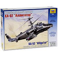 """Сборная модель """"Российский боевой вертолет Ка-52 """"Аллигатор"""" привлечет внимание не только ребенка, но и взрослого и позволит своими руками создать уменьшенную копию известного вертолета. Ка-52 """"Аллигатор"""" - двухместная версия вертолета Ка-50, на которой размещено самое современное электронное и радарное оборудование, позволяющее работать в любое время суток и в любых условиях. Этот вертолет обладает хорошими летными характеристиками, его жизненно важные части хорошо защищены, он может нести большой выбор систем оружия."""