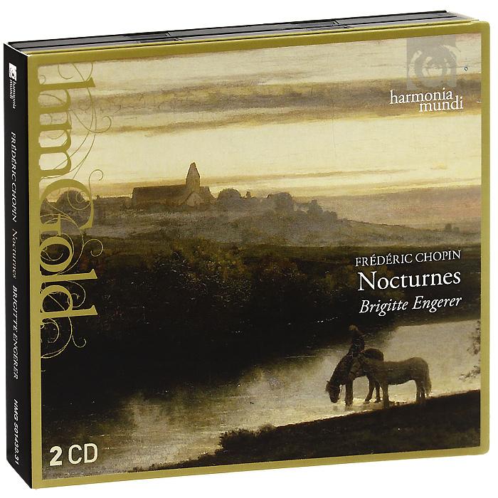 Брижитт Анжерер Brigitte Engerer. Chopin. Nocturnes (2 CD) иллюстрированный словарь для начинающих на английском немецком французском и русском