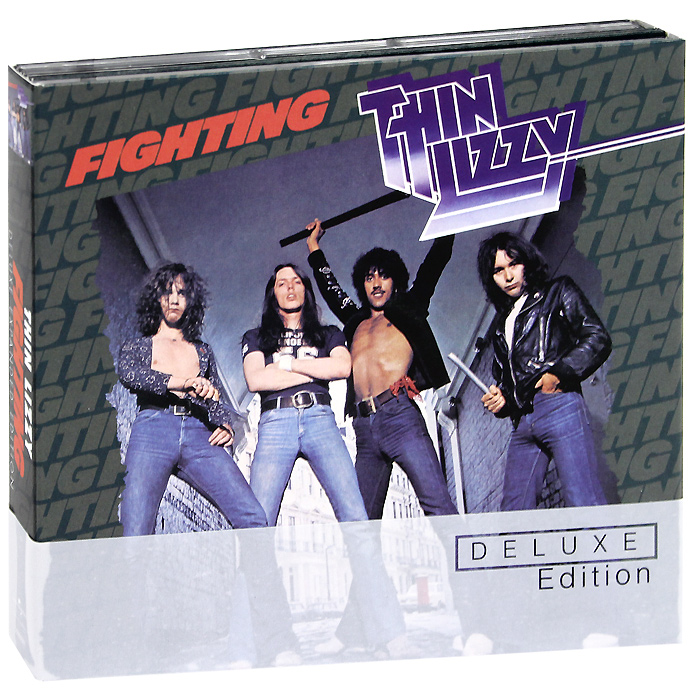 Thin Lizzy. Fighting. Deluxe Expanded Edition (2 CD)