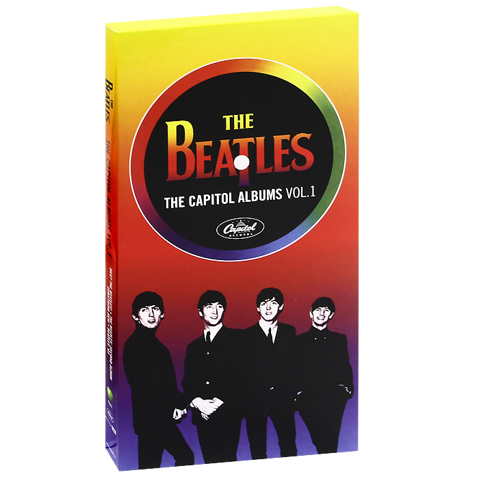 The Beatles The Beatles. The Capitol Albums. Vol. 1 (4 CD) the capitol albums volume 1 cd