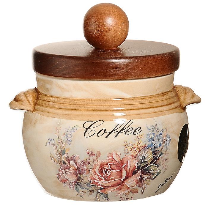 Банка для продуктов LCS Элианто Coffee 0,5 л LCS670РLС-EL-ALVT-1520(SR)Банка LCS Элианто с надписью Coffee, выполненная из высококачественной керамики, станет незаменимым помощником на кухне. В ней будет удобно хранить разнообразные сыпучие продукты, такие как кофе, крупы, макароны. Емкость легко и надежно закрывается деревянной крышкой с силиконовым уплотнителем. Оригинальный дизайн позволит сделать такую емкость отличным подарком на любой праздник. Характеристики: Материал: керамика, дерево, силикон. Диаметр по верхнему краю: 9 см. Высота (с крышкой): 12 см. Высота (без крышки): 8 см. Объем: 500 мл. Размер упаковки: 13,5 см х 14 см х 12 см. Изготовитель: Италия. Артикул: LCS670РLС-EL-AL.LCS - молодая, динамично развивающаяся итальянская компания из Флоренции, производящая разнообразную керамическую посуду и изделия для украшения интерьера. В своих дизайнах LCS использует как классические, так и современные тенденции.Высокий стандарт изделий обеспечивается за счет соединения высоко технологичного производства и использования ручной работы профессиональных дизайнеров и художников, работающих на фабрике.