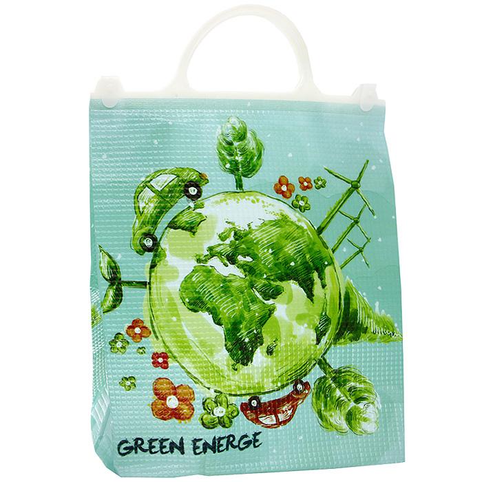 Термосумка Green Energe6.295-875.0Термосумка Green Energe с пластиковыми ручками прекрасно подходит для перевозки охлажденных напитков или продуктов.Применяемые в изготовлении термосумки материалы и технологии позволяют до 6 часов сохранять напитки и продукты прохладными. Для наиболее продолжительного эффекта рекомендуется использовать аккумуляторы холода. Характеристики: Размер: 29 см х 36 см х 18 см. Материал: ППЭ. Производитель: Китай. Артикул: КС-304.