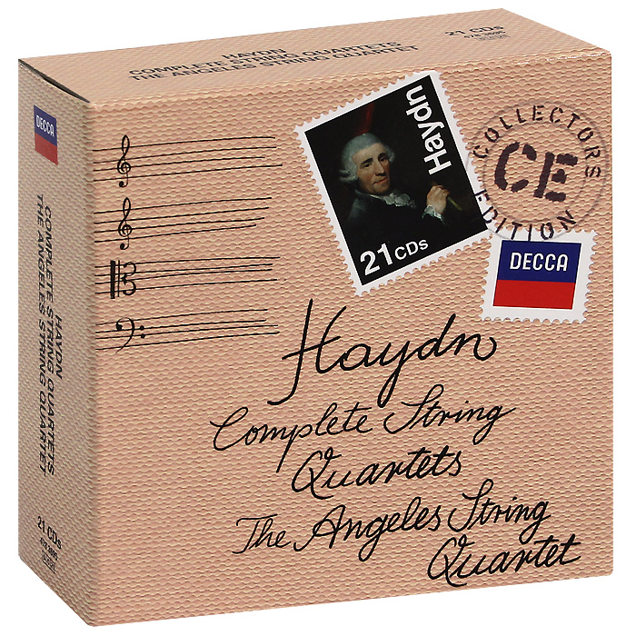 The Angeles String Quartet The Angeles String Quartet. Haydn. Complete String Quartets (21 CD) the giver quartet