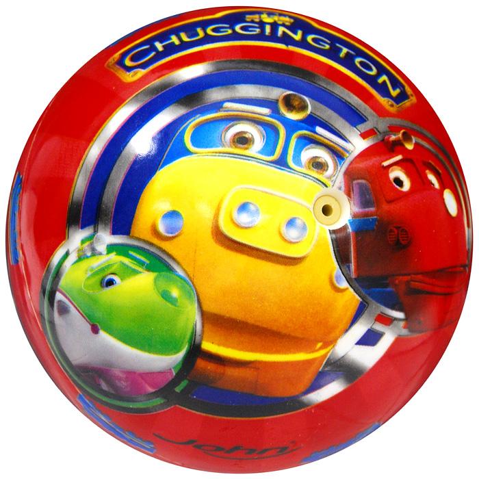 """Детский мяч """"Чаггингтон"""" - яркая игрушка для детей любого возраста. Мяч оформлен красочными изображениями знаменитых веселых паровозиков из Чаггингтона. Яркий компактный мяч """"Чаггингтон"""" станет незаменимым спутником для всех любителей подвижных игр и активного отдыха. Игра в мяч развивает координацию движений, способствует физическому развитию ребенка."""
