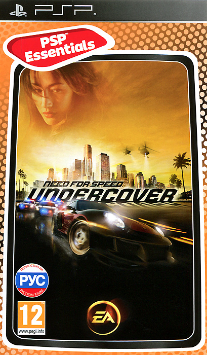 Need for Speed: Undercover. Essentials (PSP), EA Games,EA Black Box