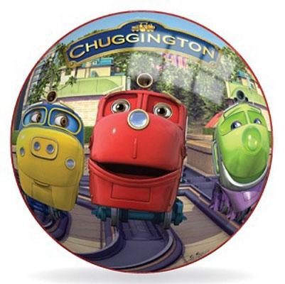 """Яркий мяч """"Чаггингтон"""" - яркая игрушка для детей всех возрастов. Мяч оформлен изображениями знаменитых веселых паровозиков из Чаггингтона. Яркий мяч """"Чаггингтон"""" станет незаменимым спутником для всех любителей подвижных игр и активного отдыха. Игра в мяч развивает координацию движений, способствует физическому развитию ребенка."""