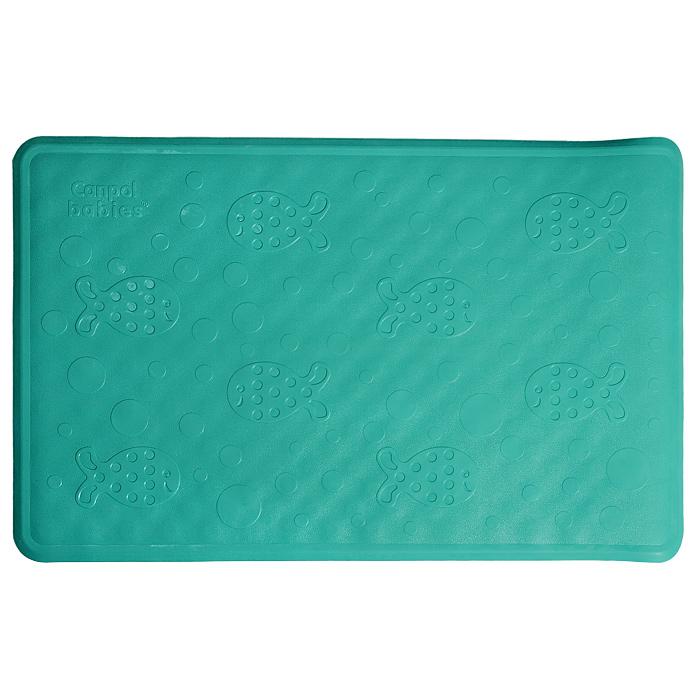 Canpol Babies Нескользящий коврик для ванны цвет зеленый 34 см х 55 см коврик для ванной canpol нескользящий 34x55 см