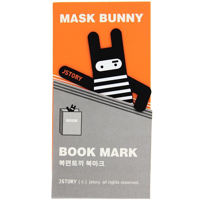 """Оригинальная закладка для книги """"Заяц в тельняшке"""" - великолепный подарок для тех, кто не мыслит свою жизнь без книг. Закладка выполнена в виде забавного зайца в полосатом костюме. Такая закладка подарит хорошее настроение своему обладателю."""