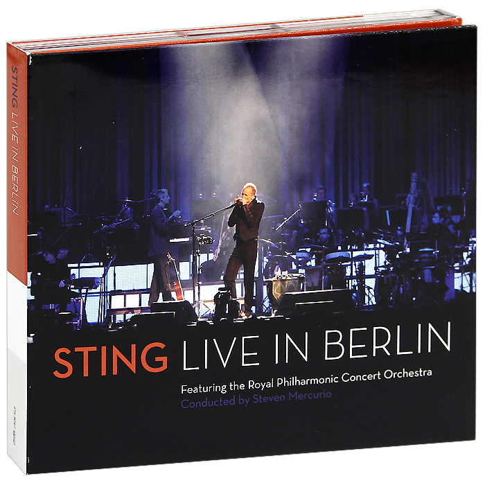 Стинг Sting. Live In Berlin (CD + DVD) sting sting the complete studio collection 16 lp