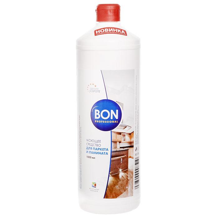 Средство Bon для уборки паркета и ламината, 1 л средство bon для мытья пола и придания блеска универсальное 1 л