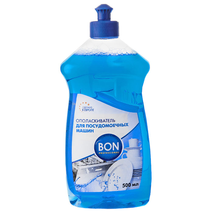 Ополаскиватель Bon для посудомоечных машин, 500 мл704Ополаскиватель для посудомоечных машин Bon на основе органических компонентов обеспечивает надежную дезинфекцию и быстрое высыхание посуды без подтеков, пятен и известкового налета. Лимонная кислота в составе ополаскивателя гарантирует сияющий блеск и чистоту посуды.Характеристики:Объем: 500 мл. Изготовитель:Чехия. Артикул: BN-165.Товар сертифицирован.