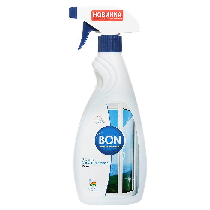 Средство Bon для мытья стекол, 500 мл764086Средство Bon предназначено для мытья окон, зеркал, столешниц из стекла, кафельной плитки и любых других стеклянных поверхностей. Оно мгновенно удаляет загрязнения различного происхождения, придает стеклу сияющий блеск, препятствует образованию статического электричества, длительное время не позволяет пыли оседать на предметы. Быстро высыхает, не оставляя пятен, потеков и радужных разводов. Эргономичный флакон оснащен высоконадежным курковым распылителем, позволяющим легко и экономично наносить средство на загрязненную поверхность. Характеристики:Объем: 500 мл. Изготовитель:Чехия. Артикул: BN-154.Товар сертифицирован.