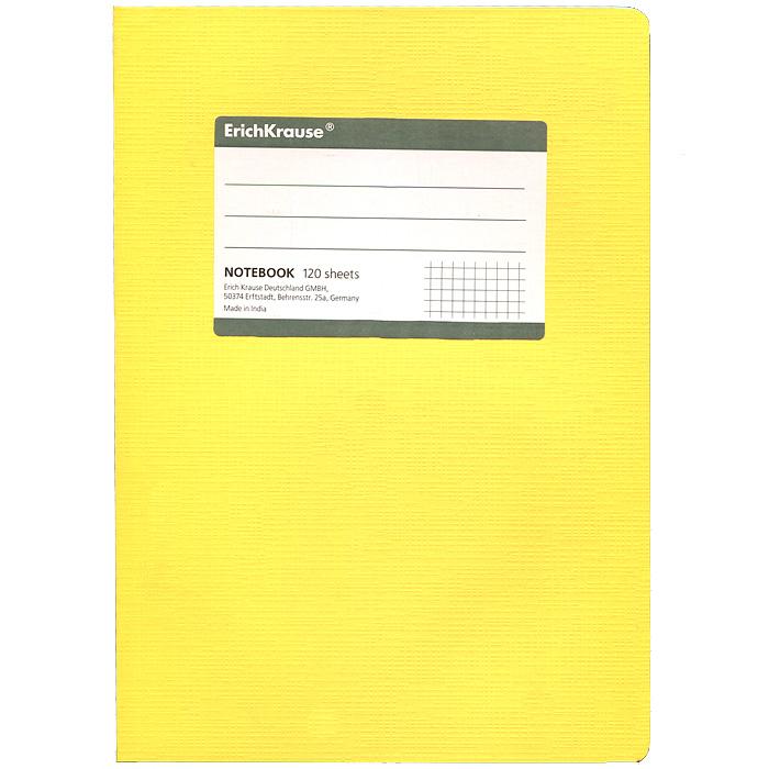 Тетрадь Fluor, цвет: желтый, 120 листов, А57-48-696Тетрадь Fluor в клетку из белой офсетной бумаги послужит прекрасным местом для различных записей. Обложка тетради выполнена из тонкого картона с покрытием. Такая тетрадь подойдет как школьнику, так и студенту. Характеристики:Размер тетради: 14,5 см х 20,5 см х 1,1 см. Формат: А5. Количество листов: 120. Материал: картон, бумага. Изготовитель: Индия.