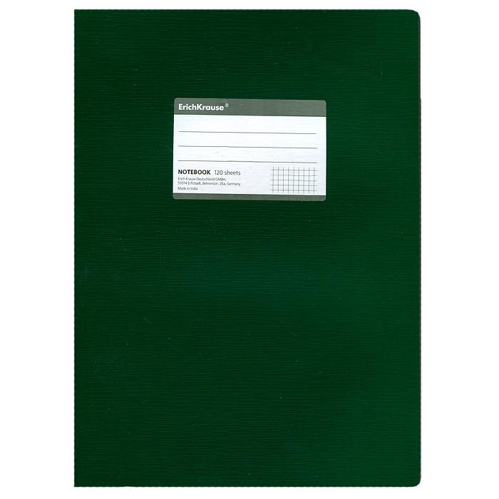 Тетрадь One Color, цвет: зеленый, 120 листов, А472523WDТетрадь One Color в клетку из белой офсетной бумаги послужит прекрасным местом для различных записей. Обложка тетради выполнена из тонкого картона с покрытием. Такая тетрадь подойдет как школьнику, так и студенту. Характеристики:Размер тетради: 20,5 см х 29 см х 1,1 см. Формат: А4. Количество листов: 120. Материал: картон, бумага. Изготовитель: Индия.