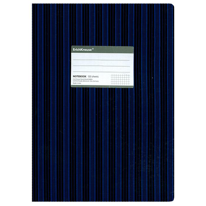 Тетрадь Two Colors, цвет: черный, синий, 120 листов, А472523WDТетрадь Two Colors в клетку из белой офсетной бумаги послужит прекрасным местом для различных записей. Обложка тетради выполнена из тонкого картона с покрытием. Такая тетрадь подойдет как школьнику, так и студенту. Характеристики:Размер тетради: 20,5 см х 29 см х 1,1 см. Формат: А4. Количество листов: 120. Материал: картон, бумага. Изготовитель: Индия.