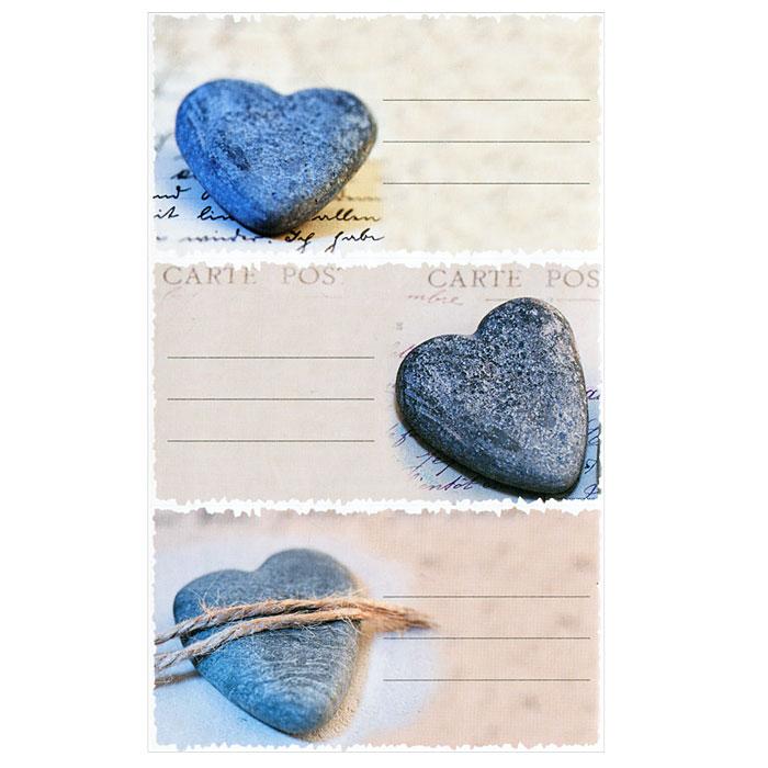 """Набор наклеек для записей """"Сердечки"""" представляет собой девять разноцветных наклеек с линовкой, предназначенных для записи личных данных, напоминаний и многого другого. Наклейки оформлены оригинальным изображением сердечек. Наклейки легко клеятся на любые гладкие поверхности."""