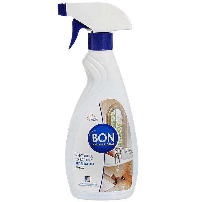 Средство чистящее для ванн Bon, 500 млBN-151Универсальное средство для чистки ванн, раковин, любых фаянсовых изделий.Подходит для ухода за металлической и пластиковой сантехнической фурнитурой.Очиститель эффективно удаляет с поверхностей в ванных и туалетных комнатах загрязнения любого происхождения, растворяет налет мыла, темные пятна, известковые отложения.Избавляет покрытие ванн, раковин от потеков ржавчины, желтизны, возвращая сантехнике сияние и блеск.Защищает поверхность от образования известкового налета, облегчает последующую уборку. Бережно относится к покрытию, не оставляет царапин и разводов. Наполняет помещение приятным ароматом свежести. Эргономичный флакон оснащен высоконадежным курковым распылителем, позволяющим легко и экономично наносить средство на загрязненную поверхность. Характеристики:Объем: 500 мл. Производитель: Чехия. Артикул: BN-170.