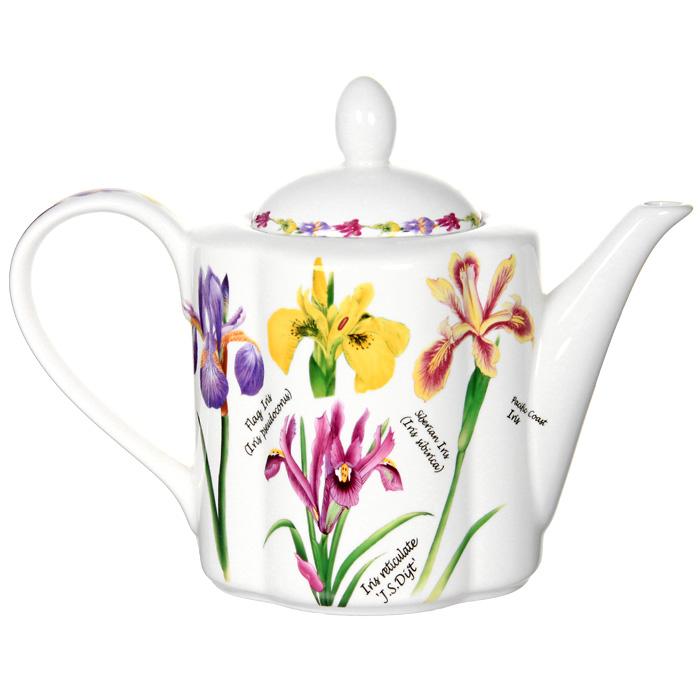 Чайник заварочный Ирисы, 1 л391602Заварочный чайник Ирисы поможет вам в приготовлении вкусного и ароматного чая, а также станет украшением вашей кухни. Он изготовлен из высококачественной керамики и оформлен красочным изображением ирисов. Яркий цветочный рисунок придает чайнику особый шарм, который понравится каждому. Такой заварочный чайник станет приятным и практичным подарком на любой праздник.Размер чайника: 18 х 24 х 11 см.