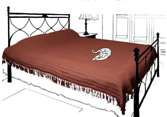 Покрывало Кантри. British Style, 160 х 220 см, цвет: шоколад68/5/3Покрывало Кантри. British Style гармонично впишется в интерьер вашего дома и создаст атмосферу уюта и комфорта. Покрывало выполнено из натуральных тканей, поэтому является экологически чистым. Высочайшее качество материала гарантирует безопасность не только взрослых, но и самых маленьких членов семьи. Кроме того, ткань обработана и при стирке не красится, максимальная усадка ткани не превышает 1%.Современный декоративный текстиль для дома должен быть экологически чистым продуктом и отличаться ярким и современным дизайном. Именно поэтому продукция марки Арлони отвечает всем запросам современных покупателей. Характеристики: Материал: 100% хлопок. Размер: 160 см х 220 см. Цвет: шоколад. Артикул: 2035.2.