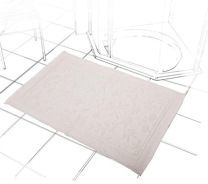 Коврик Кармен, цвет: ваниль, 60 х 90 смCLP446Коврик Кармен нежного ванильного цвета с рельефным рисунком, выполнен из высококачественного хлопкового волокна. Высочайшее качество материала гарантирует безопасность для всех членов семьи. Характеристики:Материал: хлопок.Размер коврика: 60 см х 90 см.Цвет: ваниль.Производитель: Индия. Артикул:1207.