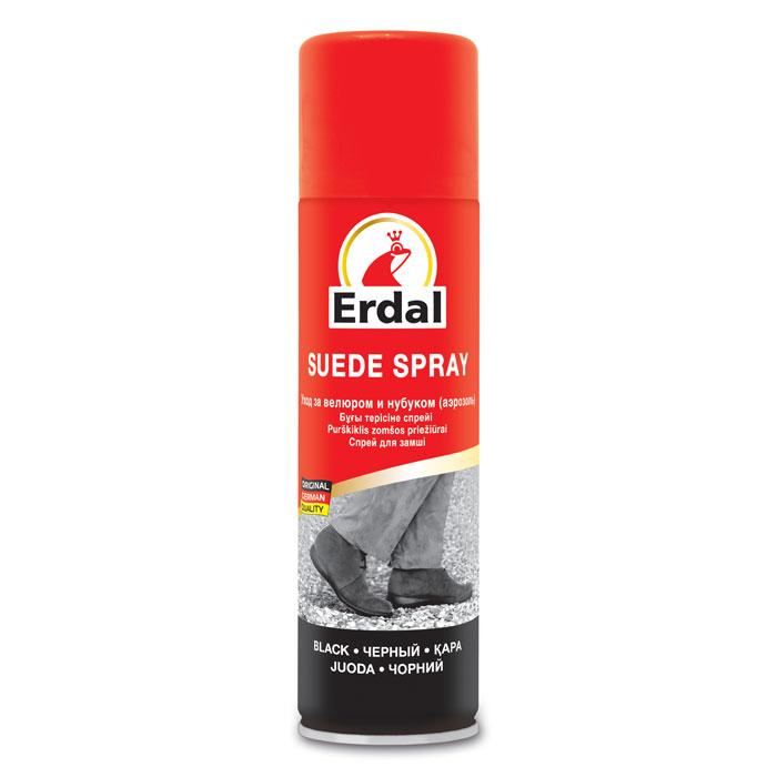 Средство по уходу за велюром и нубуком Erdal, 250 млSS 4041Средство с высококачественным фторсодержащим составом подходит для всех видов обуви из велюра и нубука, ухаживает за кожей и восстанавливает цвет. Характеристики:Объем: 250 мл. Производитель: Германия.