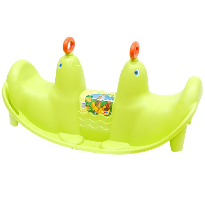Smoby Качели  Морской лев , цвет: зеленый -  Качалки