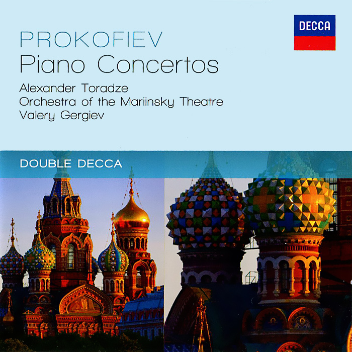 Alexander Toradze, Orchestra Of The Mariinsky Theatre, Valery Gergiev. Prokofiev. The Piano Concertos (2 CD)
