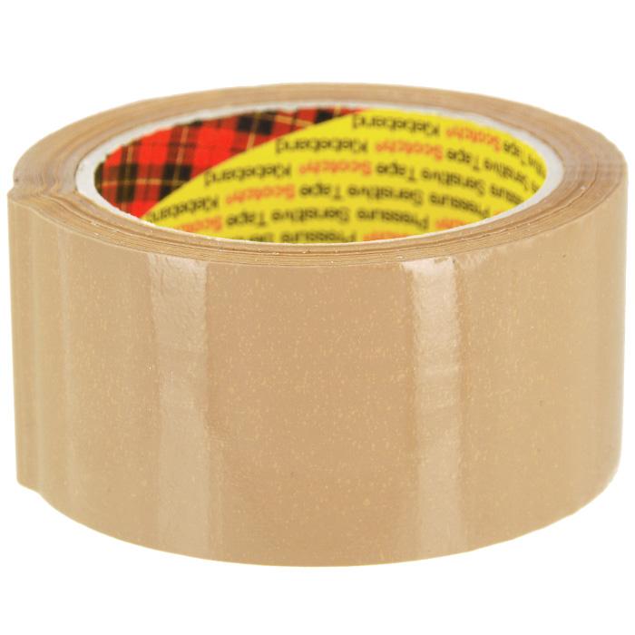 Клейкая лента Scotch, упаковочная с повышенной клейкостью, цвет: коричневыйFS-00103Упаковочная лента Scotch отвечает всем требованиям к процессу упаковки: исключительно надежно фиксирует, бесшумно разматывается, легко отрывается.Характеристики:Размер ленты: 5 см х 66 м. Изготовитель: Италия.