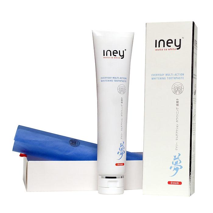 Зубная паста Splat Iney Dream, отбеливающая, 75 млSatin Hair 7 BR730MNОтбеливающая зубная паста Splat Iney Dream с эффектом интенсивного укрепления и восстановления эмали. Интенсивное отбеливание и укрепление эмали одновременно теперь возможно. Инновационная система восстановления эмали Show-How очищает и полирует эмаль, эффективно удаляет налет от чая, кофе и табака. Натуральный японский жемчуг и гидроксиапатит в высокой концентрации, входящие в эту систему, восстанавливают эмаль и снижают повышенную чувствительность зубов. Дыхание долго остается свежим благодаря антибактериальным свойствам цинка. Глубоководные морские водоросли Phytami заботятся о здоровье десен. Идеально подходит для ежедневного использования. Тонизирующий аромат розмарина, майорана, аниса, лайма и ледяной мяты. Характеристики:Объем: 75 мл. Размер упаковки: 17,5 см х 5 см х 3,5 см. Производитель: Россия. Товар сертифицирован.