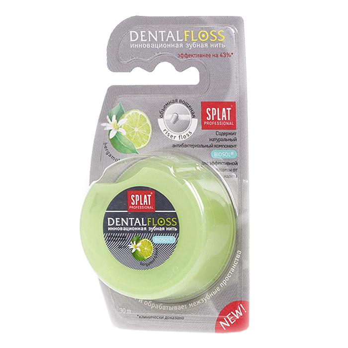 Зубная нить Splat Dental Floss с ароматом бергамота и лайма84850536_золушка/голубой, розовыйОбъемная вощеная зубная нить Splat Dental Floss с уникальной структурой (Riser Floss) при натяжении легко проникает в межзубные промежутки, бережно и эффективно очищает поверхность зубов, заботясь о здоровье десен. Антибактериальный компонент Biosol препятствует размножению бактерий. Использование нити помогает предотвратить кариес и заболевания десен, уменьшает образование налета на 69%, снижает кровоточивость десен на 50%. Характеристики:Длина нити: 30 м. Производитель: Италия. Товар сертифицирован.