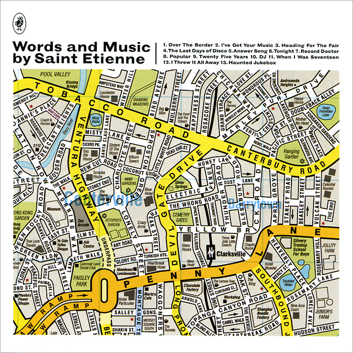 Saint Etienne Saint Etienne. Words And Music By Saint Etienne au soleil de saint tropez футболка