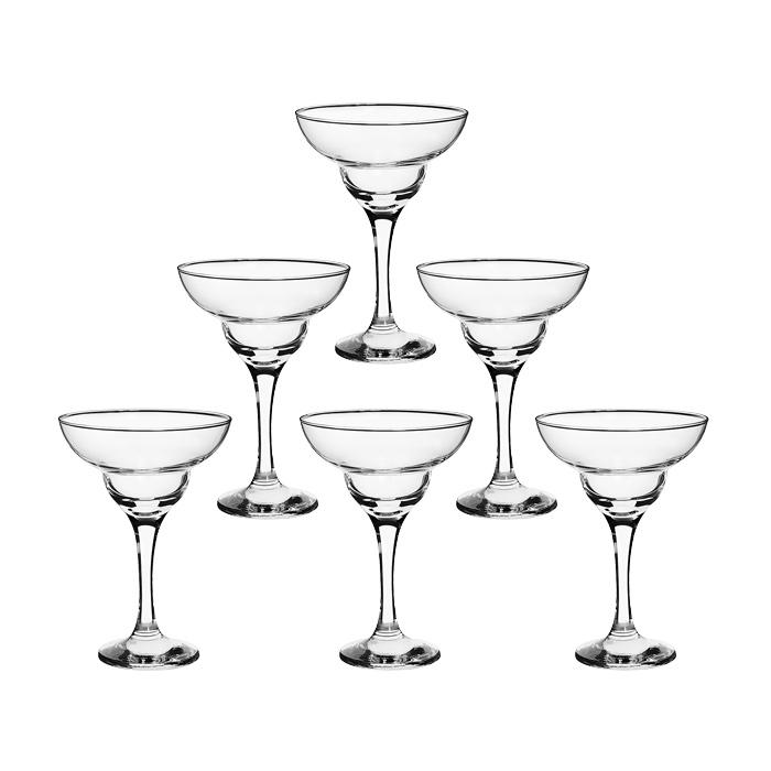 Набор бокалов Bistro для коктейлей, 250 мл, 6 штVT-1520(SR)Набор Bistro, состоящий из шести бокалов на высокой ножке, несомненно, придется вам по душе. Бокалы предназначены для подачи маргариты и других коктейлей. Они изготовлены из прочного высококачественного прозрачного стекла. Бокалы сочетают в себе элегантный дизайн и функциональность. Благодаря такому набору пить напитки будет еще вкуснее.Набор бокалов Bistro идеально подойдет для сервировки стола и станет отличным подарком к любому празднику. Характеристики:Материал: стекло. Диаметр бокала по верхнему краю:11,3 см. Высота бокала:16,5 см. Диаметр основания бокала:7 см. Объем бокала:250 мл. Комплектация:6 шт. Размер упаковки:36 см х 17,5 см х 23,5 см. Производитель:Турция. Изготовитель:Россия. Артикул:44787.