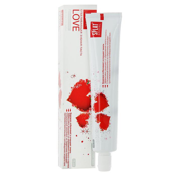Зубная паста Splat Special Love/Любовь, отбеливающая, 75 мл splat special зубная паста армидент 75 мл