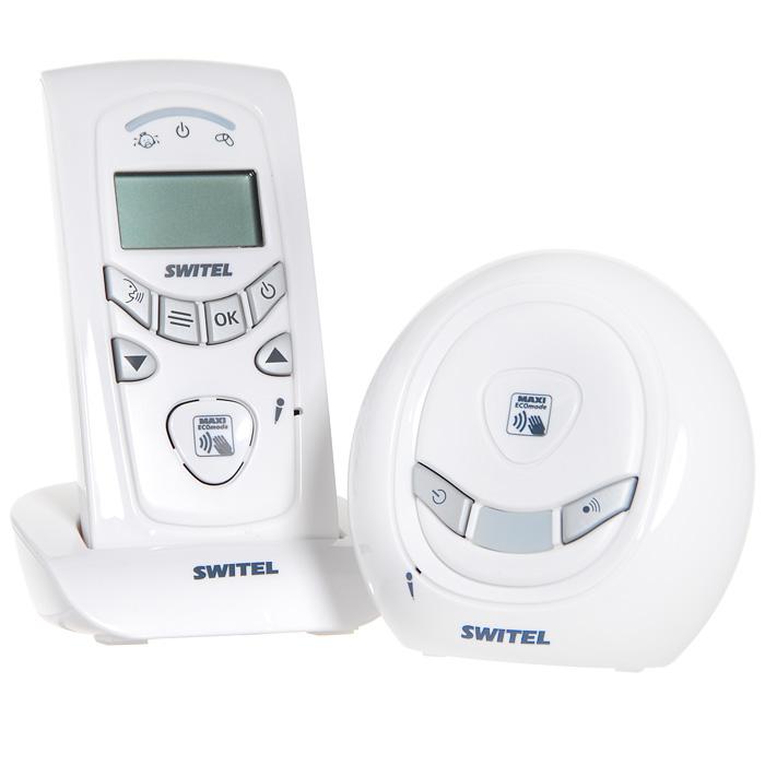"""Компактная, легкая, качественная и очень надежная цифровая радио-няня """"Switel BCC58"""" - идеальный прибор для родителей, которые желают поддерживать контакт со своим малышом каждую минуту как внутри дома, так и за его пределами. Это беспроводная система позволит слышать ребенка не только днем, но и ночью, когда он спит или играет у себя в комнате, не нарушая его спокойствия. Эта модель предусматривает возможность подключения дополнительного родительского блока. Радионяня будет работать даже в том случае, если перестанет поступать питание. Для этого достаточно установить обычные пальчиковые батарейки в детский блок и поддерживать заряд аккумуляторов в родительском блоке. Родители могут контролировать температуру воздуха в детской комнате, а в случае ее изменения радионяня Switel подаст сигнал. Часы с будильником для многих тоже окажется весьма полезной функцией. Ночник на детском блоке порадует взгляд родителей и поднимет настроение малышу. Ребенок будет под..."""