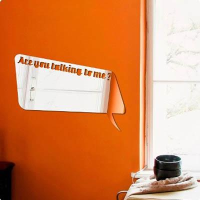 Декоративное зеркало. Paris-Paris Are You Talking to Me?, 29 х 42 смFS-91909Фигурное зеркало Paris-Paris - это яркий декоративный объект, по отражающим свойствам не уступающий классическому стеклянному зеркалу. Всегда разные в зависимости от того, где они располагаются, зеркала Paris-Paris каждый раз вступают в новый диалог с интерьером!Зеркало из гибкого органического стекла. Этот легкий и прочный материал по сравнению с обычным стеклом более устойчив к повреждениям и обеспечивает максимальный визуальный эффект. Крепится к стене при помощи специального двустороннего скотча входящего в комплект. Инструкция: Если вы уже выбрали место для вашего зеркала, весь процесс займет 3 минуты. Стена должна быть чистой и сухой. Снимите защитную пленку с клейкой ленты на обратной стороне зеркала; Разместите зеркало на стене; Аккуратно снимите с зеркала защитную пленку. Характеристики:Размер зеркала: 29 см х 42 см. Материал: органическое стекло. Комплектация: 1 декоративное зеркало, инструкция. Производитель: Франция.