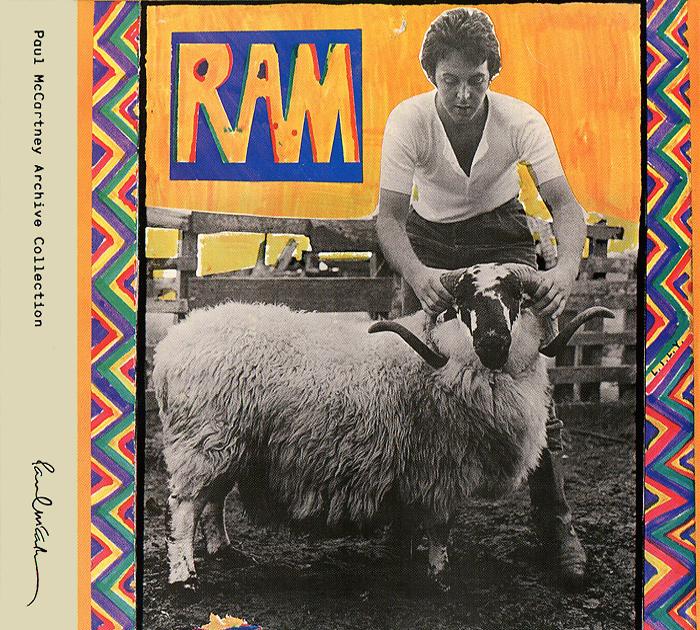 Paul And Linda McCartney. Ram