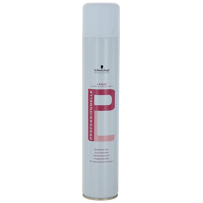 Лак для волос Professionnelle, сверхсильная фиксация, 500 мл099-87-1580492Лак для волос Schwarzkopf & Henkel Professionnelle обеспечивает волосам долговременную фиксацию, придает им натуральный блеск. Не склеивает волосы, быстро высыхает и легко расчесывается. Характеристики:Объем: 500 мл.Товар сертифицирован.