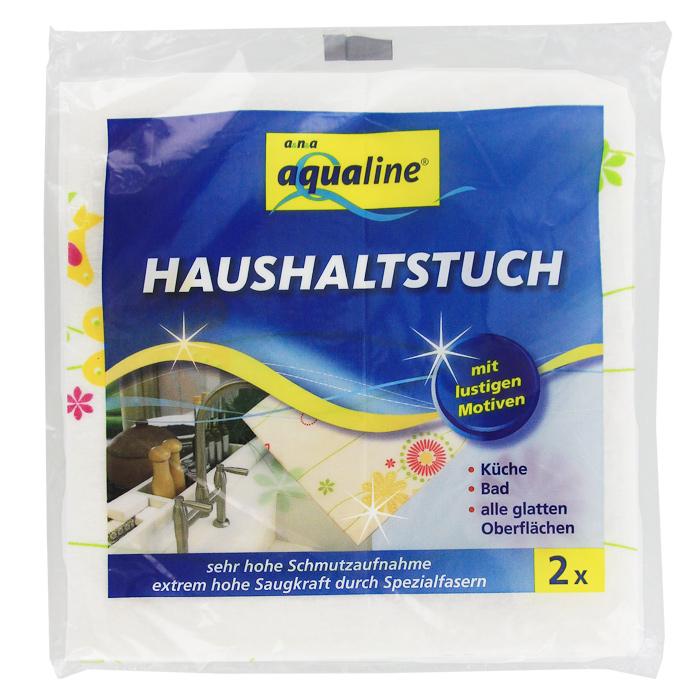 Салфетка универсальная Aqualine Фан-дизайн, впитывающая, 38 см х 38 см, 2 шт8206Универсальная салфетка Aqualine Фан-дизайн применяется для уборки всех гладких поверхностей в доме. Она будет незаменима в ванной комнате и на кухне. Салфетка хорошо впитывает влагу и обладает высоким чистящим эффектом.Можно стирать при температуре 60°С. Характеристики:Материал:70% вискоза, 20% полипропилен, 10% полиэстер. Размер:38 см х 38 см. Комплектация:2 шт. Производитель: Германия. Артикул:2018.