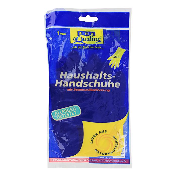 Перчатки резиновые Aqualine, легкие. Размер 7 (малый)OLIVIERA 75012-5C CHROMEЛегкие резиновые перчатки Aqualine предназначены для любых видов работ в доме и саду. Они эффективно предохраняют кожу от грязи и воздействия моющих средств. Руки не потею в них благодаря внутреннему слою с флокированием из натурального хлопка. Они очень прочные, поэтому прослужат долгое время.